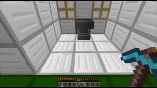Minecraft Redstone Creation: Automatic Anvil Reloader, destroyed and reloaded