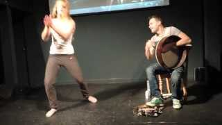 Bodhrán and Contemporary dance - Craiceann 2013 video notes