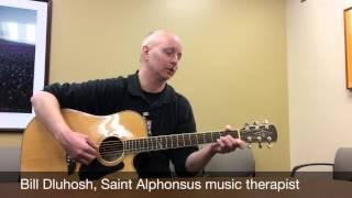 Music Therapist Bill Dluhosh