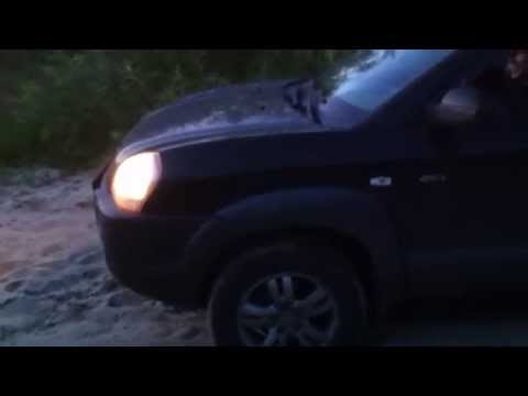 Hyundai Tucson Хендай Туссан по песку