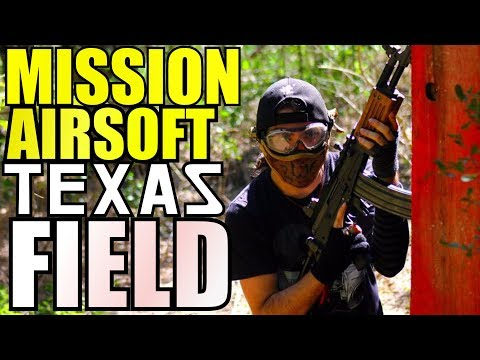 Mission Airsoft San Antonio, Texas - Field Overview
