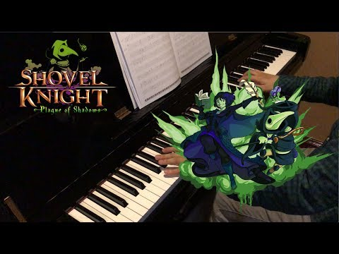 The Final Note - Shovel knight Plague of Shadow - Piano Solo + Sheet Music#