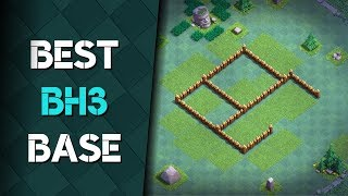 Best Bh3 (Builder Hall) Base Design Anti 3 Star Clash of Clans May Update 2017