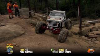 Tuff Truck Challenge 2016 - TEAM ANABOLIC on Rocky Horror