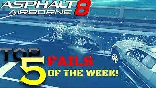 Asphalt 8 TOP 5 FAILS OF THE WEEK #3