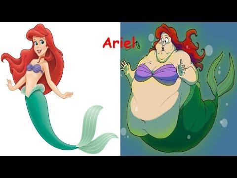 Disney Princess As Fat | Disney Princesses As Monsters |Disney Princess Characters in Real Life