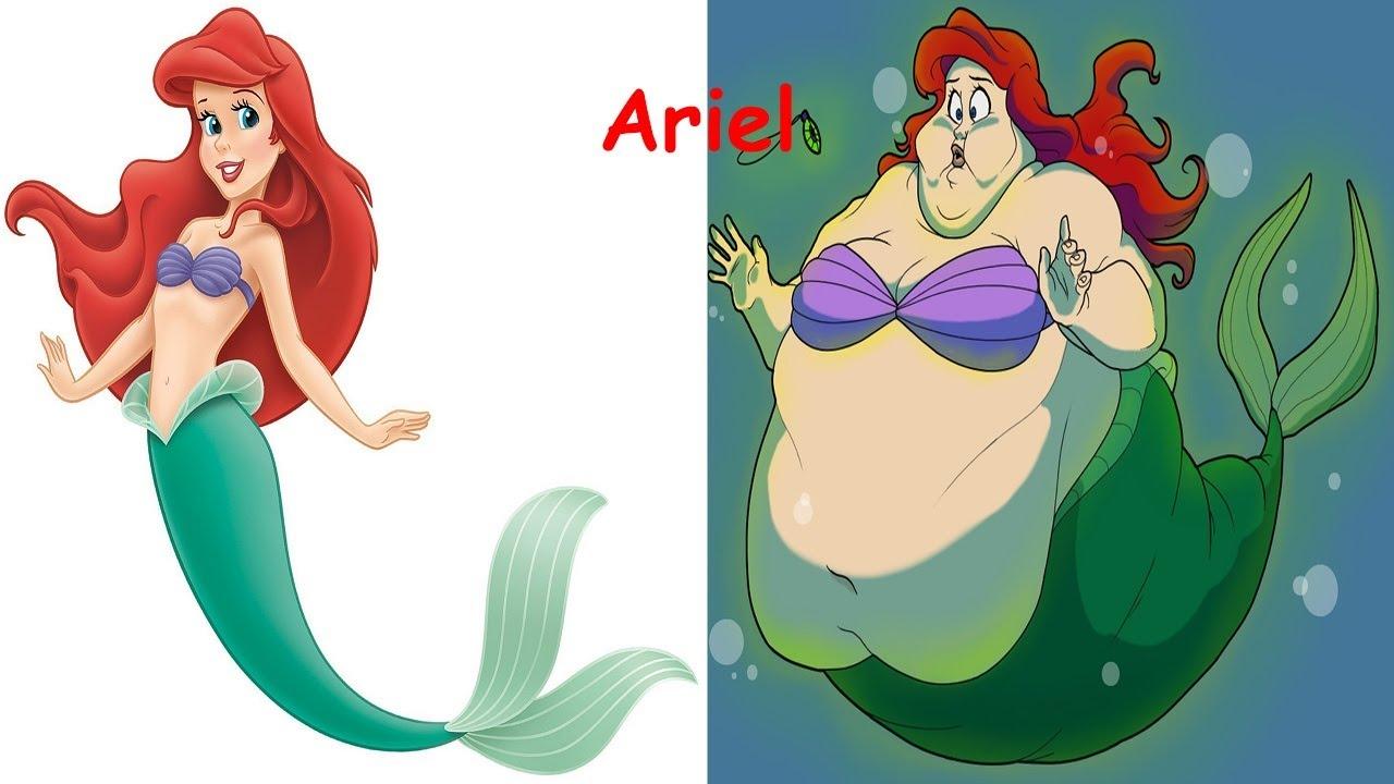 disney princess as fat disney princesses as monsters disney