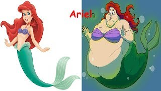 Disney Princess As Fat | Disney Princesses As Monsters |Disney Princess Characters In Real Life