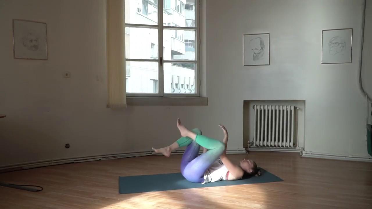 yoga scapă de varicoză