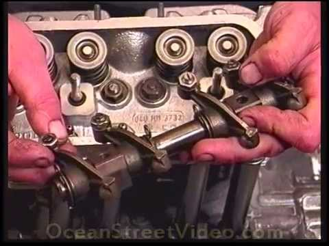 vw engine build top  install part  shims jugs rockers type  youtube