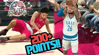SCORING OVER 200 POINTS IN THE ALL STAR GAME!! NBA 2k17 MyCAREER Ep. 68