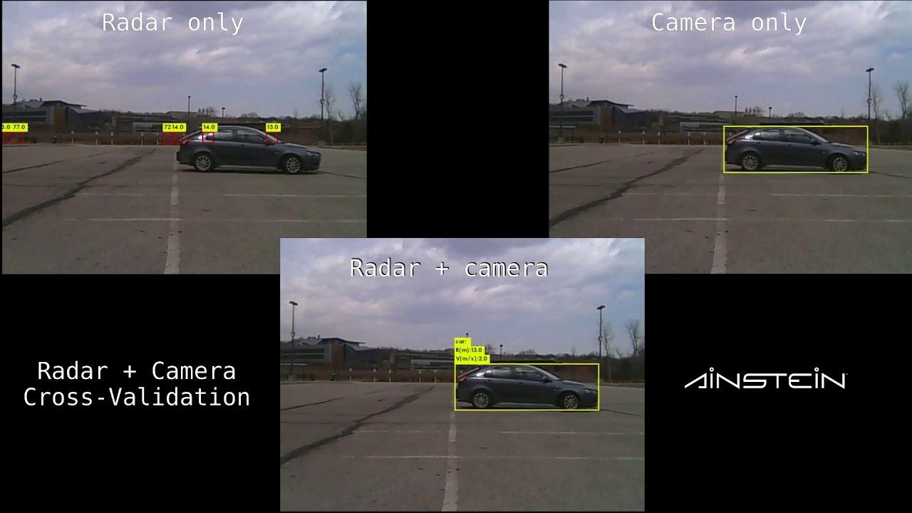 Ainstein Radar And Camera Sensor Fusion With 77 GHz LMM Automotive Radar  Kanza-77 - Mid