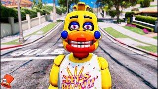 - BRAND NEW ROCKSTAR CHICA FNAF 6 GTA 5 Mods For Kids FNAF Redhatter