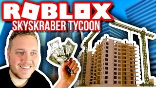 EARNING 1.1 MILLION 💲 PER MINUTE! 🏢:: Vercinger i Roblox Skyscraper Factory Tycoon English Ep. 2