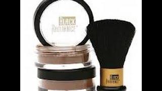 black radiance true complexion custom coverage foundation 8203 dark loose powder duo review
