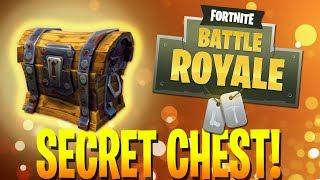 SECRET CHEST (Fortnite Battle Royale)