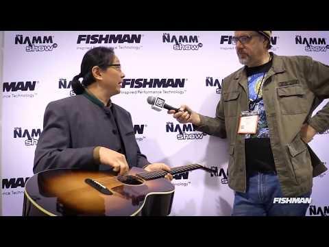 Washburn Guitars with Greg Koch at NAMM 2018   Fishman E