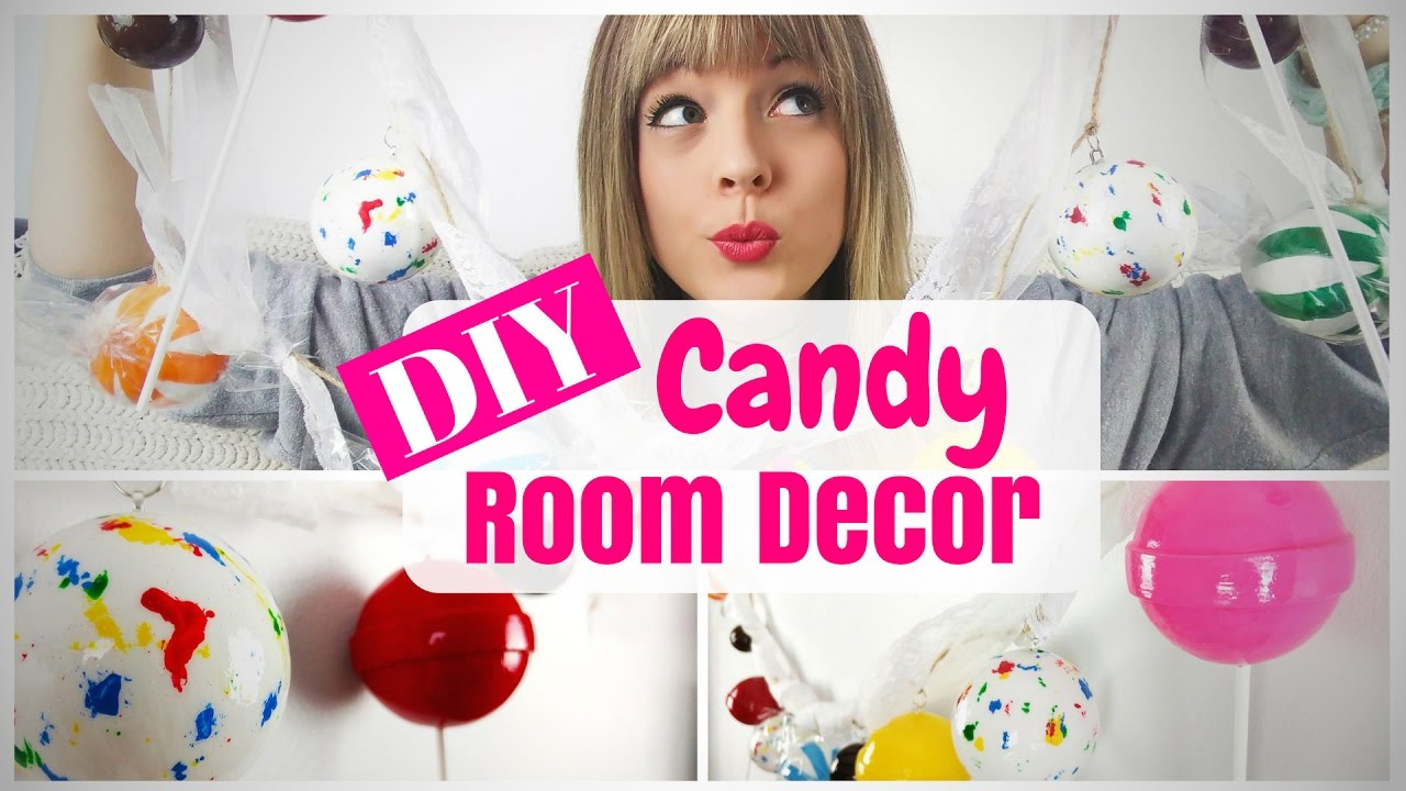 DIY Candy Guarland-Room Decor Tutorial-Easy & Cheap-Part 2 ...