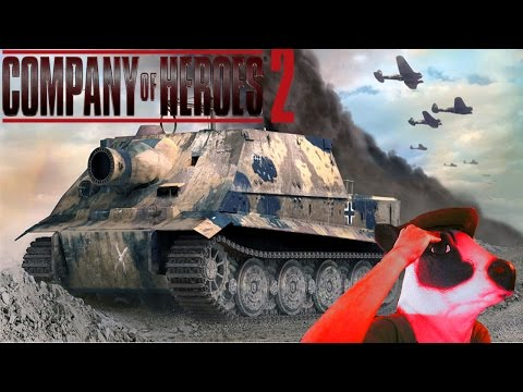 Sturmtiger!!! - Company Of Heroes 2 The British Forces: Sovjet Union Gameplay