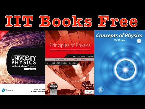 IIT JEE Preparation Books Free Download | Best Books For IIT JEE Free Of Cost  |