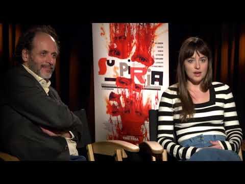 'Suspiria' cast explain why their director Luca Guadagnino is 'magical'