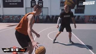 3x3 World champion vs. Fan - 1 on 1 streetball