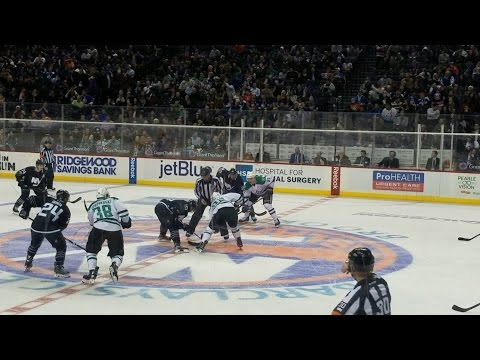 First time at Barclays Center in Brooklyn | New York Islanders vs Dallas Stars