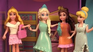 Poupées Princesses Disney Magiclip Vêtements Polly Pocket 5ème séance d'essayage