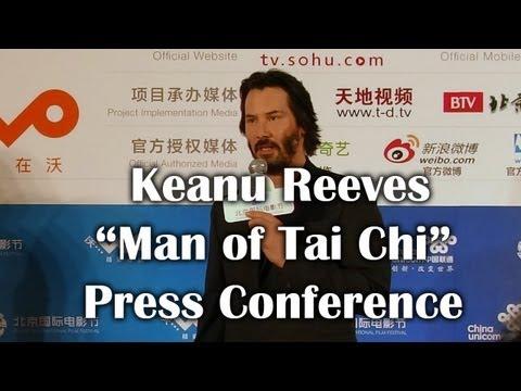 "Keanu Reeves ""Man of Taichi"" Trailer Premiere at the Beijing Int'l Film Festival - 基努·里维斯在""太极侠""记者会"
