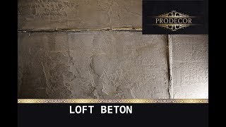 LOFT BETON штукатурка в стиле ЛОФТ за копейки / VGT декоративная + венецианская