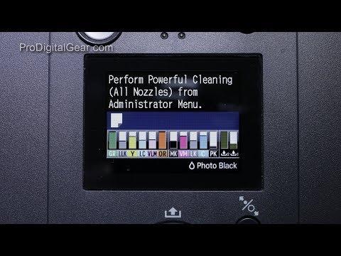 Admin Power Clean   Epson P Series