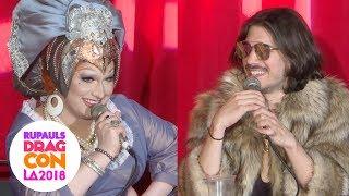 COOL MOM Panel with Jinkx Monsoon & Nick 'Kamekazi' Sahoyah @ RuPaul's DragCon LA 2018