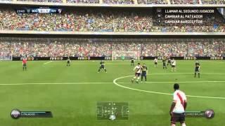 FIFA 16 golazo de chilena, River Plate vs Boca Jrs.