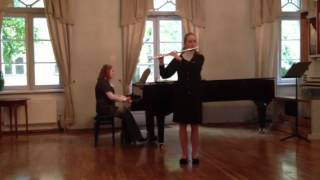 Piano and flute version of The Beatles