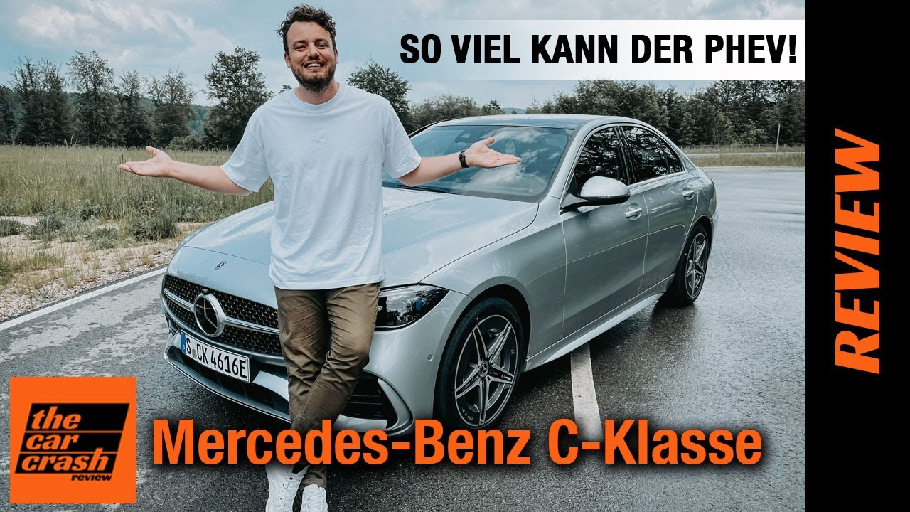 Mercedes C-Klasse 300 e im Test (2021) So viel kann der Plug-in Hybrid! Fahrbericht   Review   Preis