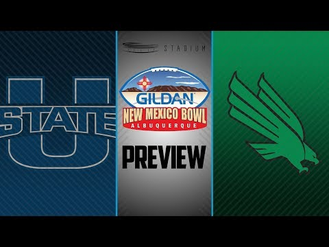 Wisconsin Sports - Utah State vs North Texas - New Mexico Bowl Preview