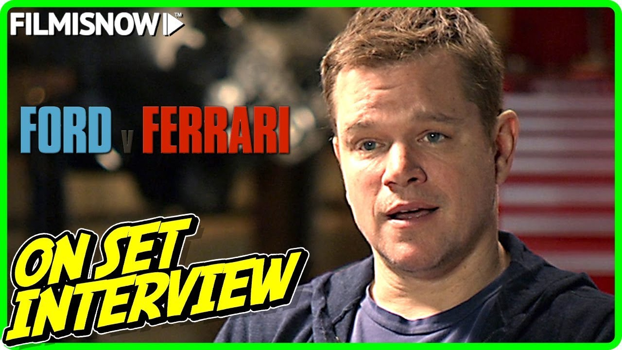 FORD V FERRARI | Matt Damon