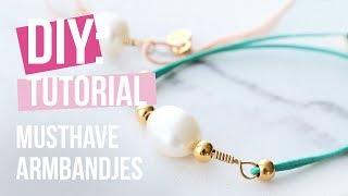 Sieraden maken: Armbandjes met Artistic Wire en elastiek ♡ DIY