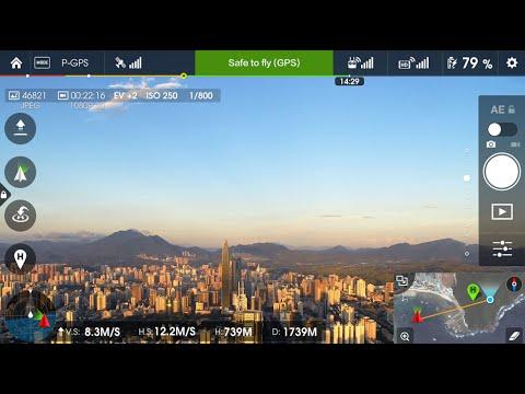 Обзор приложения DJI Pilot / DJI Go на русском