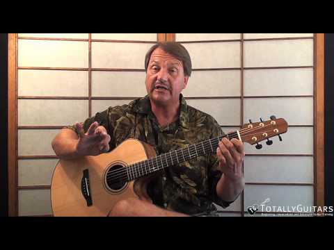 California Dreamin' Acoustic Guitar Lesson - The Mamas And The Papas