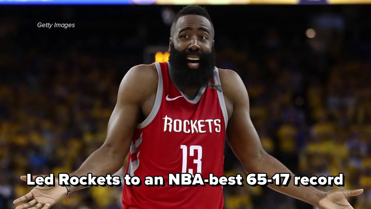 Houston Rockets G James Harden beats out LeBron James for 2018 NBA MVP Award a06e784b6