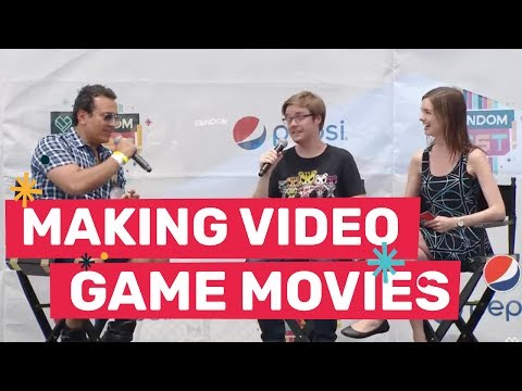 The Challenge of Making a Video Game Movie with Adrian Askarieh at FANDOMFEST