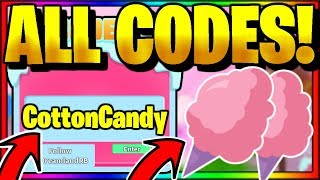 *ALL* NEW SECRET OP WORKING CODES! Roblox 🍭Cotton Candy Simulator🍭