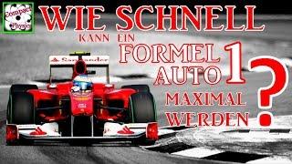 Wie schnell kann ein Formel 1 Auto maximal werden? [Compact Physics]