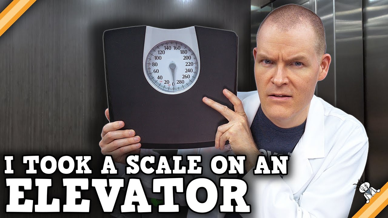 Scales do NOT measure Weight!
