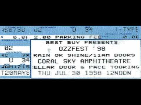 Black Sabbath West Palm Beach  1999 AUDIO Master Tapes