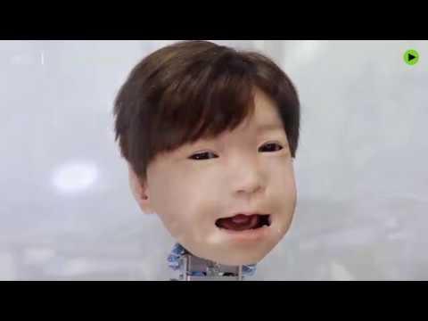 Japanese child robot: Creepy AF!