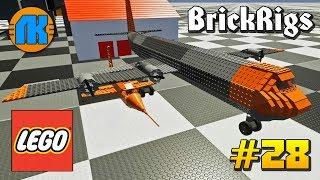 Brick Rigs \ #28 \ ЛЕТАЮЩИЙ АВИАНОСЕЦ ДЛЯ BELL X-1 В БРИК РИГС !!!