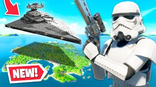 STARWARS arrives in Fortnite! (Skins, Star Destroyer + MORE)