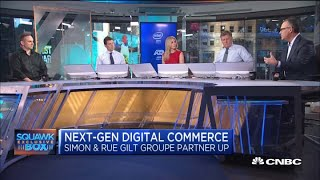 Rue Gilt's Michael Rubin and Simon's David Simon on partnering for digital commerce